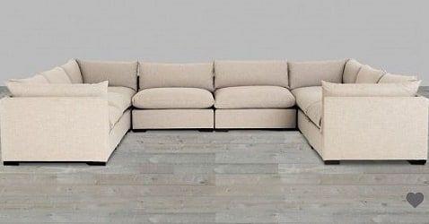 Peachy Espresso Bennett Moon 8 Piece Sectional From Customarchery Wood Chair Design Ideas Customarcherynet