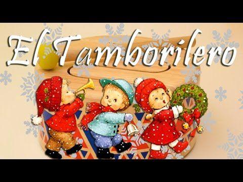 El Tamborilero El Niño Del Tambor Con Letra Karaoke Instrumental Villancicos Christmas Ornaments Christmas Holiday Decor