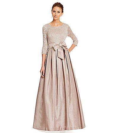 Jessica Howard Floral Embellished LaceBodice Gown #Dillards ...