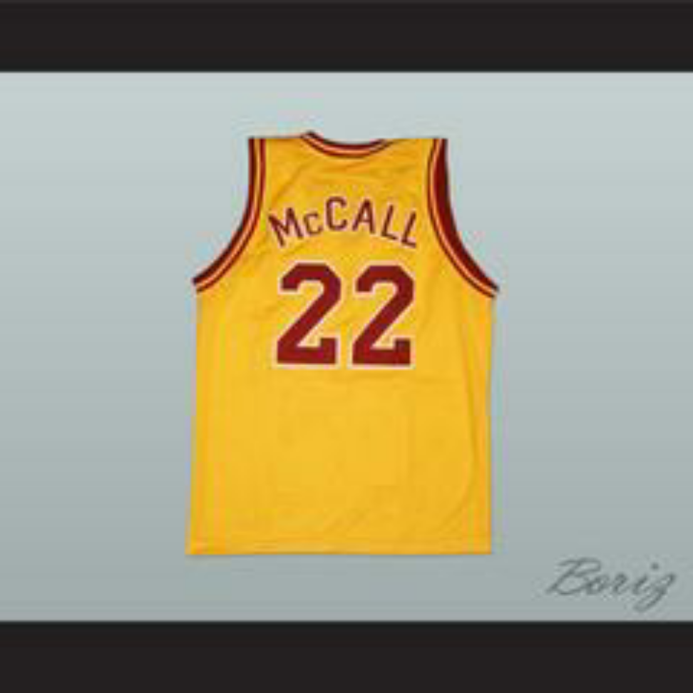 491fe8b63a89 Omar Epps Quincy McCall 22 College Career Basketball Jersey Love and  Basketball
