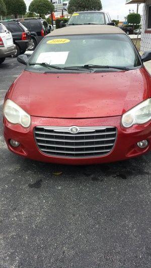 2004 Chrysler Sebring Convertible For Sale In Lake Mary Fl