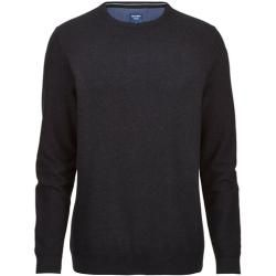 Photo of Olymp Strick Pullover, modern fit, Anthrazit, Xxl Olymp