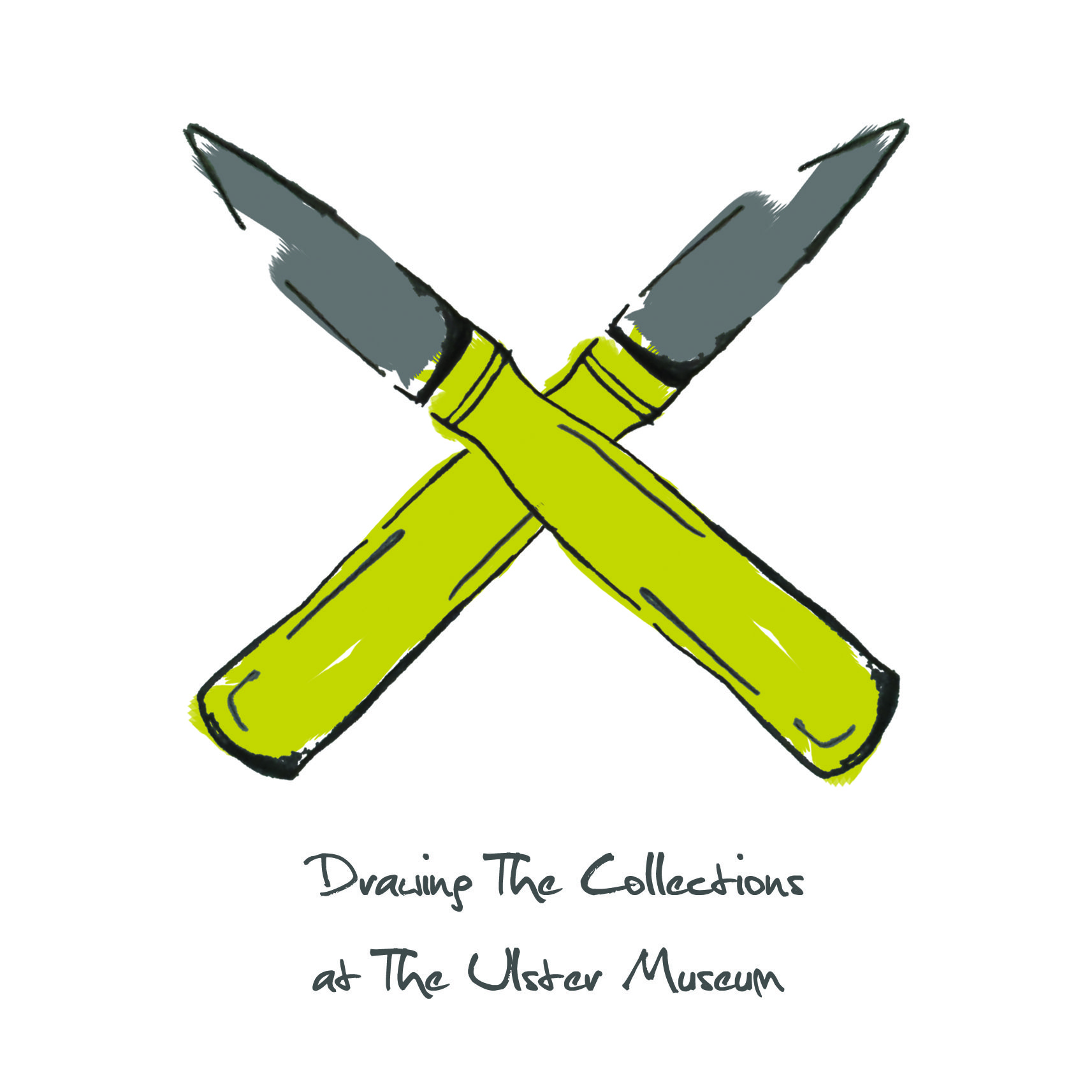 'Drawing The Collections At The Ulster Museum' Front Cover ...