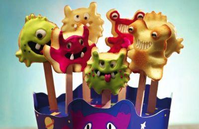 Cake Pops Monster