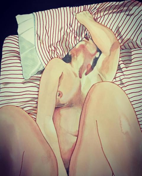 Ilustraciones eróticas para que las señoritas disfruten su lado más oscuro
