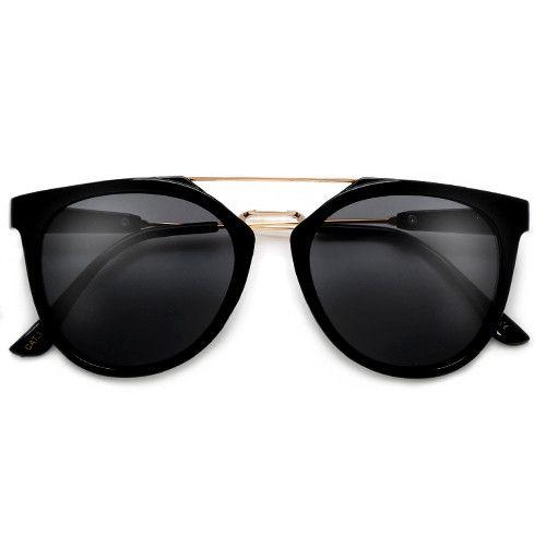 ray ban wayfarer solbriller sort honning