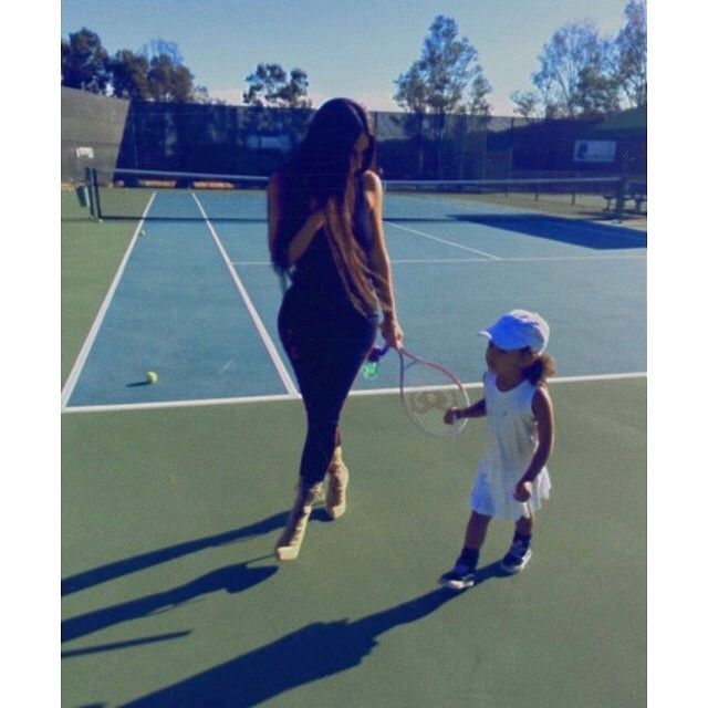 """2,861 Likes, 6 Comments - North West Official ™ (@_north.west_) on Instagram: """"Tennis #northwest #kimkardashian"""""""