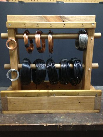 Awesome Wire Caddy Loaded With Wire Bonsai Tools Bonsai Wire Bonsai Wiring Database Gramgelartorg