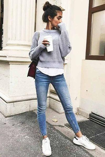 Beste Komfortable Damen Herbst Outfit | Schonheit.info #trendyoutfitsforschool