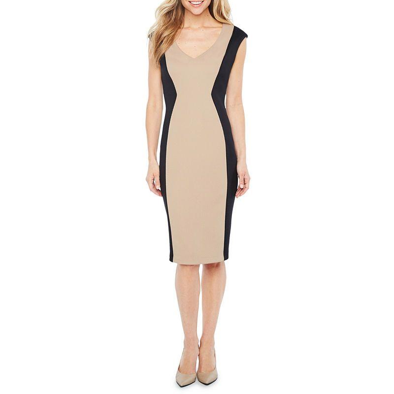 05c835ea77b Ronni Nicole Sleeveless Sheath Dress JCPenney