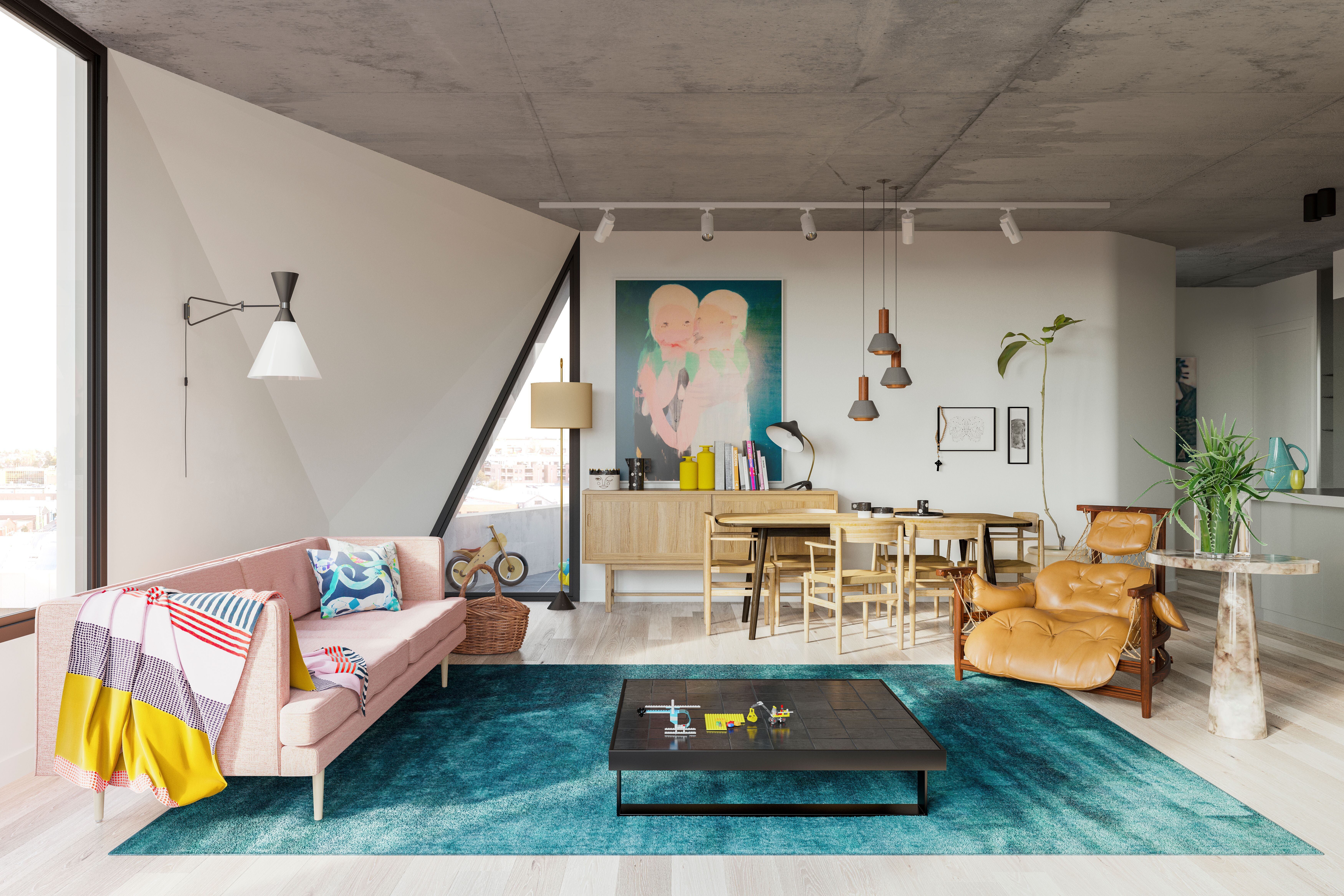 Peel by Milieu Collingwood apartment development with a selection