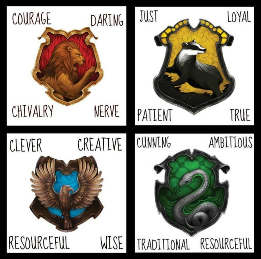 Harry Potter Welches Haus Harry Potter House Characteristics May The Geek Be With