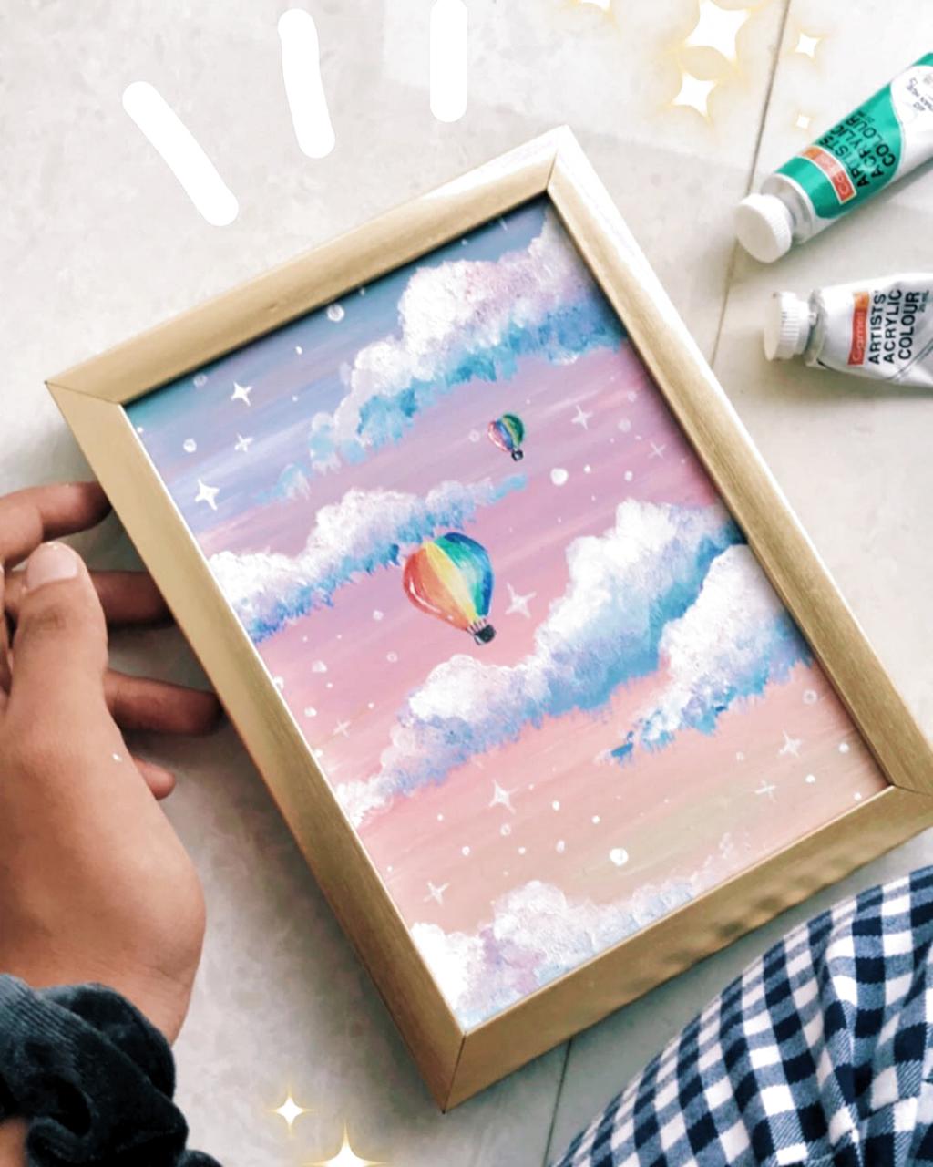 Acrylic Aesthetic Paintings : acrylic, aesthetic, paintings, Paint, #painting, #aesthetic, #pocketpainting, #acrylicpaint, #acrylicpainting, Aesthetics, #artfeatur…, Canvas, Acrylic, Painting, Canvas,, Small
