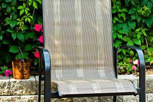 How To Replace Sling Chair Fabric Con Imagenes Living