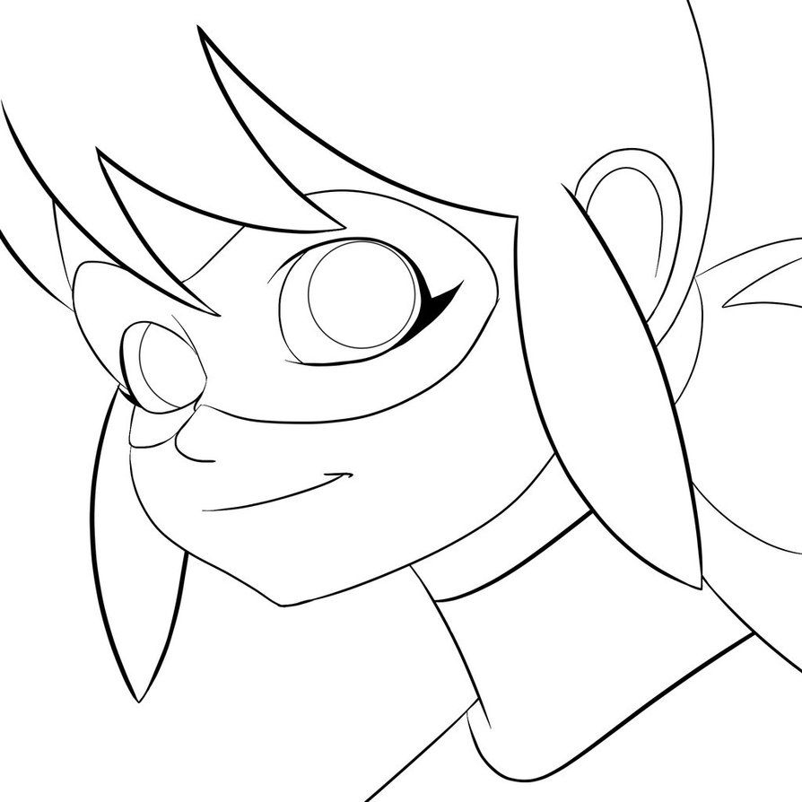 Miraculous Ladybug Line Art Doodle By Semajz On Deviantart Ladybug Coloring Page Cartoon Coloring Pages Hello Kitty Colouring Pages