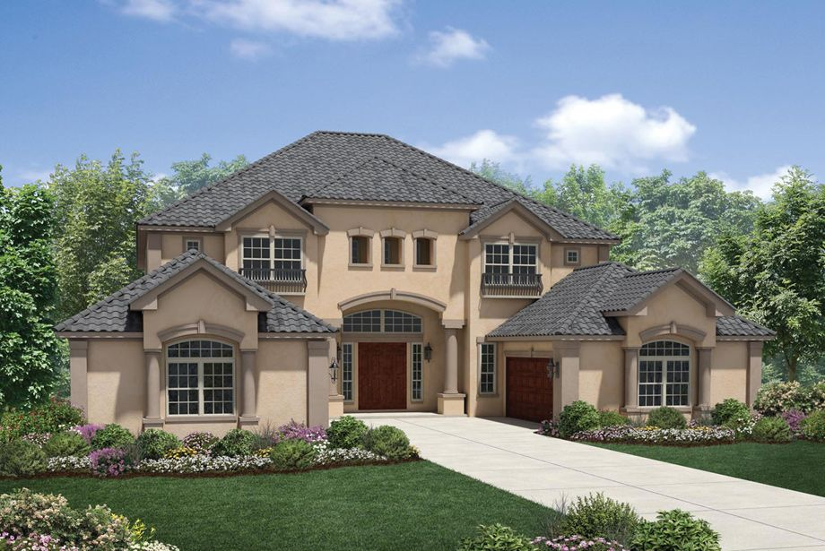 The McKinley is a luxurious Toll Brothers home design