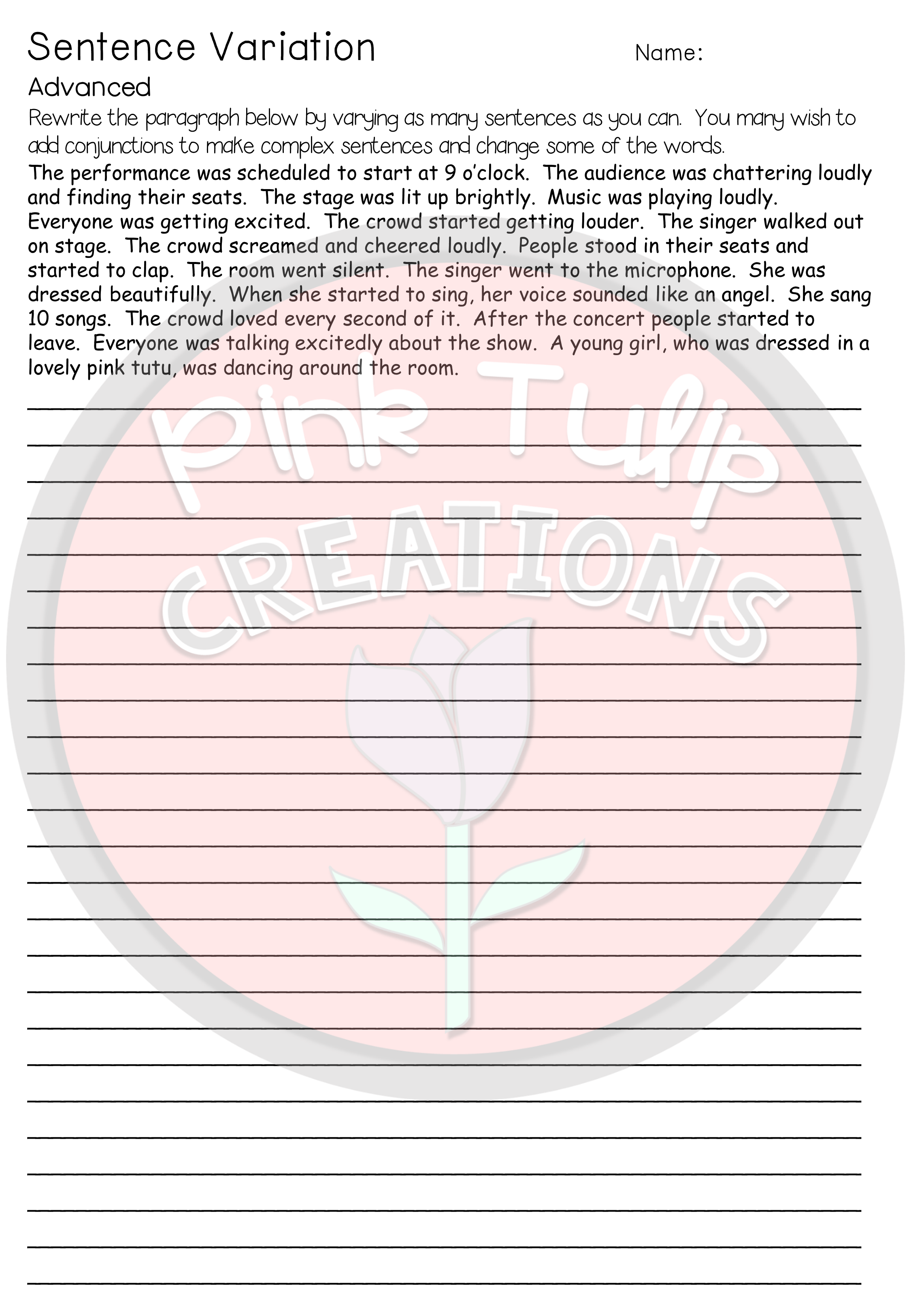 Grammar Worksheet Bundle