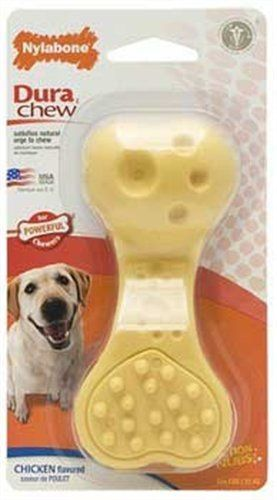 Amazon Com Nylabone Dura Chew Plus Wavy Bone Chew Toy Pet Supplies Good For Plaque And Tartar And Max Chewing Nylabone Dog Chew Toys Toy Puppies