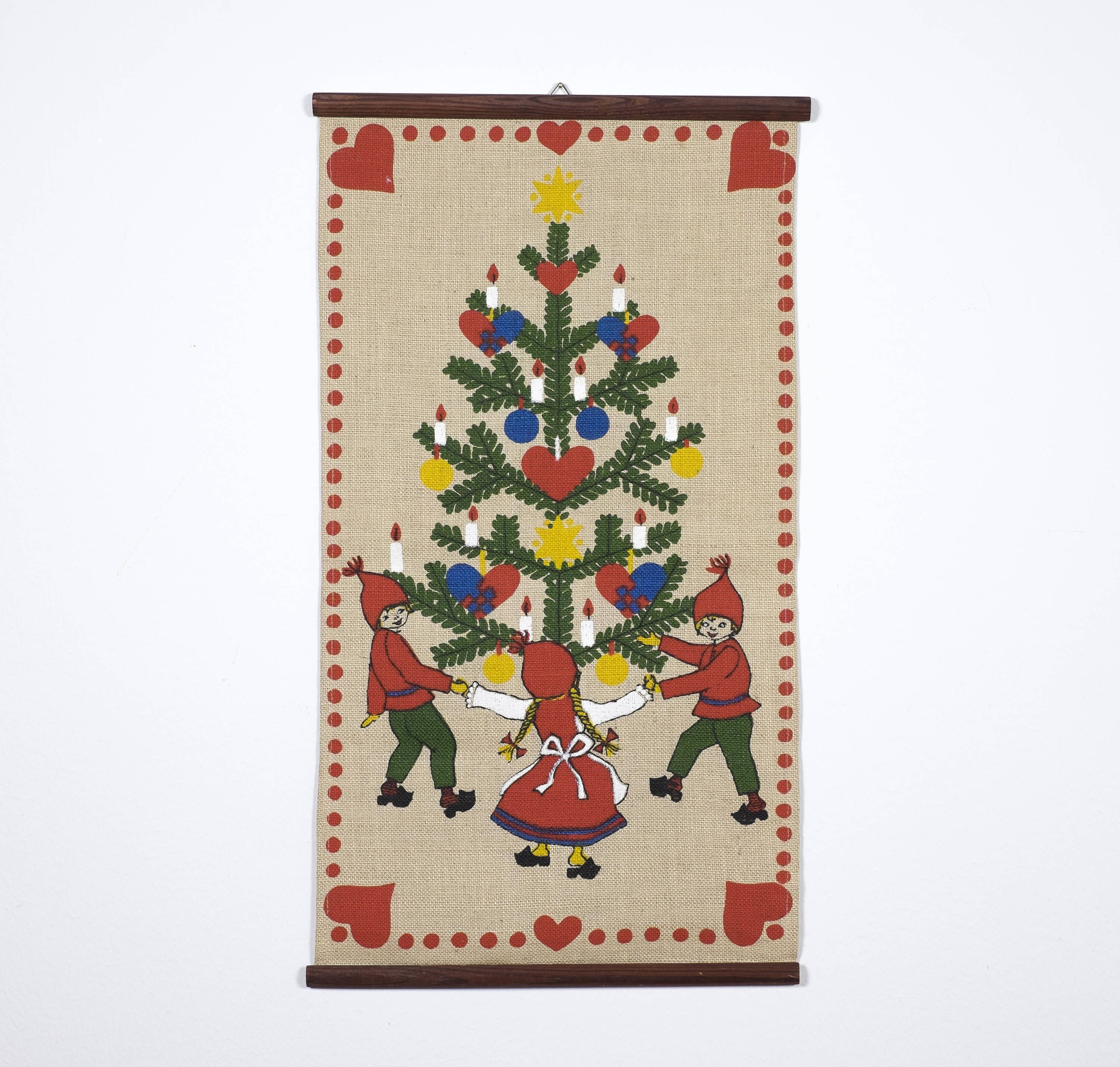 Your Place To Buy And Sell All Things Handmade Christmas Wall Hangings Vintage Christmas Wall Hanging