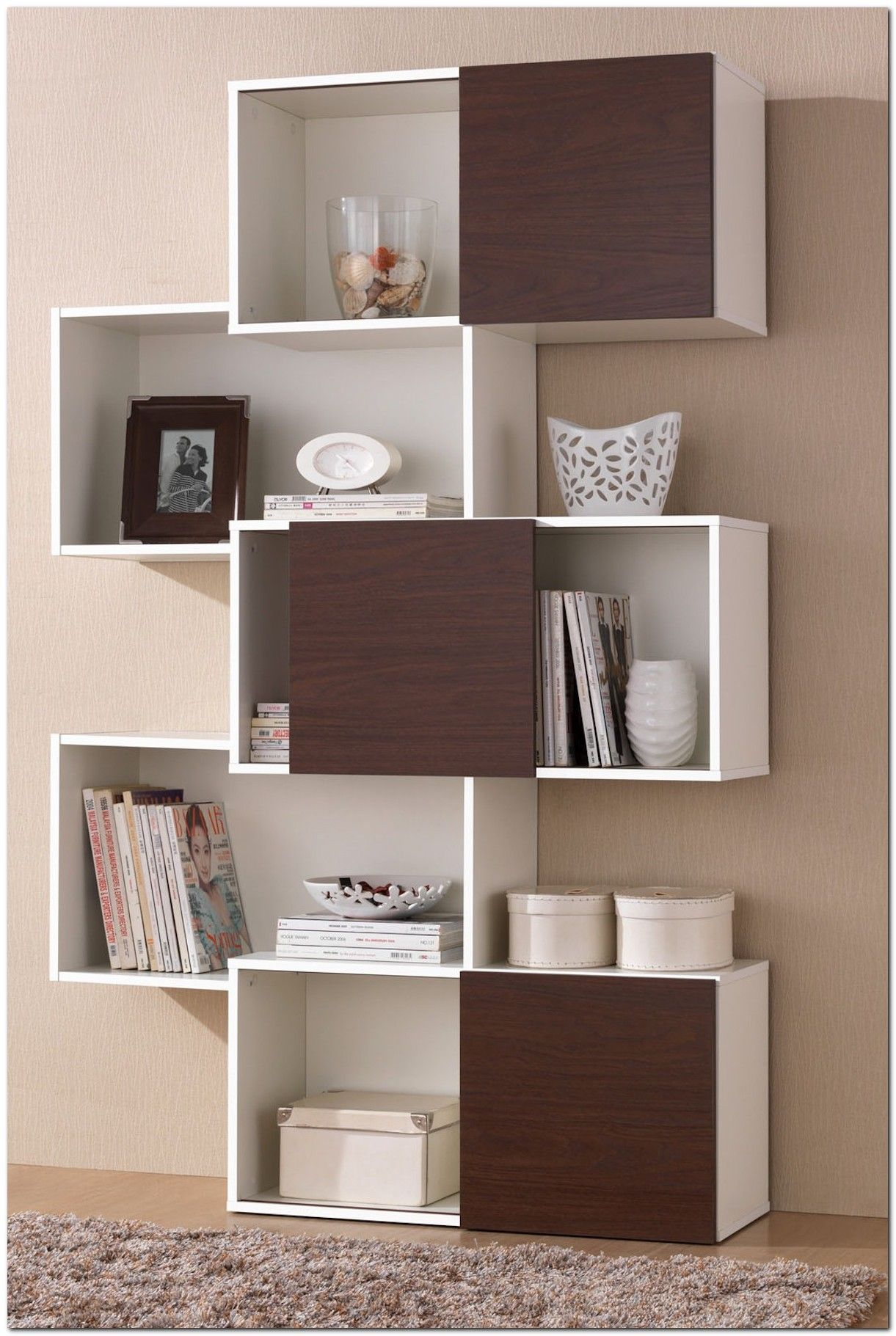 99 Bookshelf Ideas To Make Your Small Apartment Look Classy The Urban Interior Modern Bookcase Shelves Shelf Design