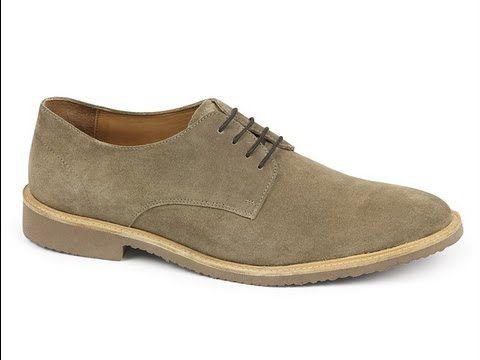 suede derby- summer footwear