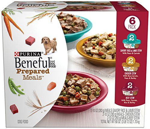Amazon Com Beneful Dry Dog Food Prepared Meals Stew Variety