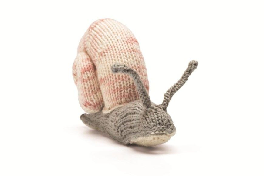 How to Knit a Snail | Knitting, Pattern, Knitting patterns