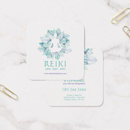 Yoga And Reiki Business Cards Zazzle Com Reiki Business Professional Business Cards Business Cards