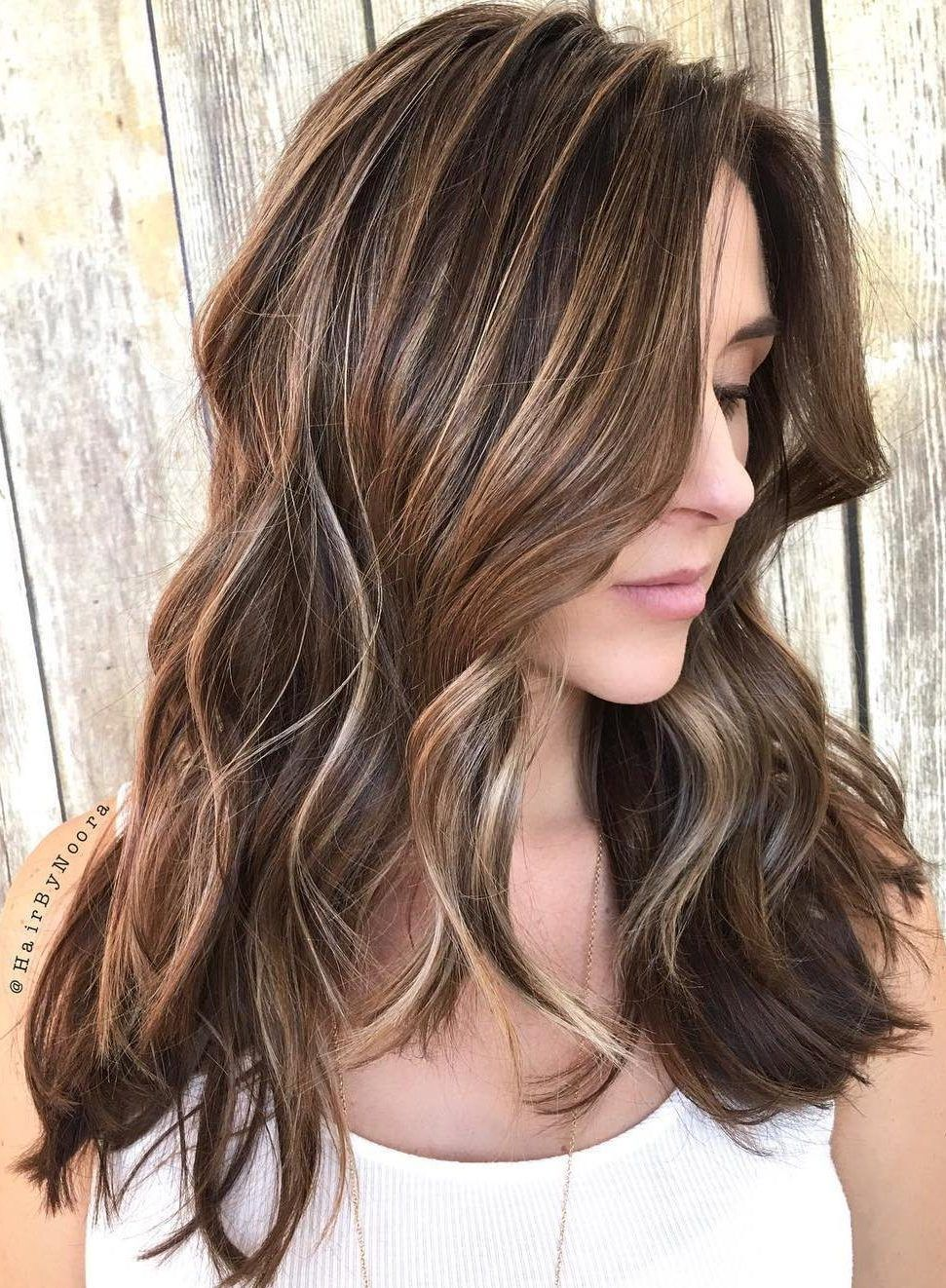 40 Ideas For Light Brown Hair With Highlights And Lowlights Light Brown H In 2020 Light Brown Hair Brown Hair With Highlights And Lowlights Brown Hair With Highlights