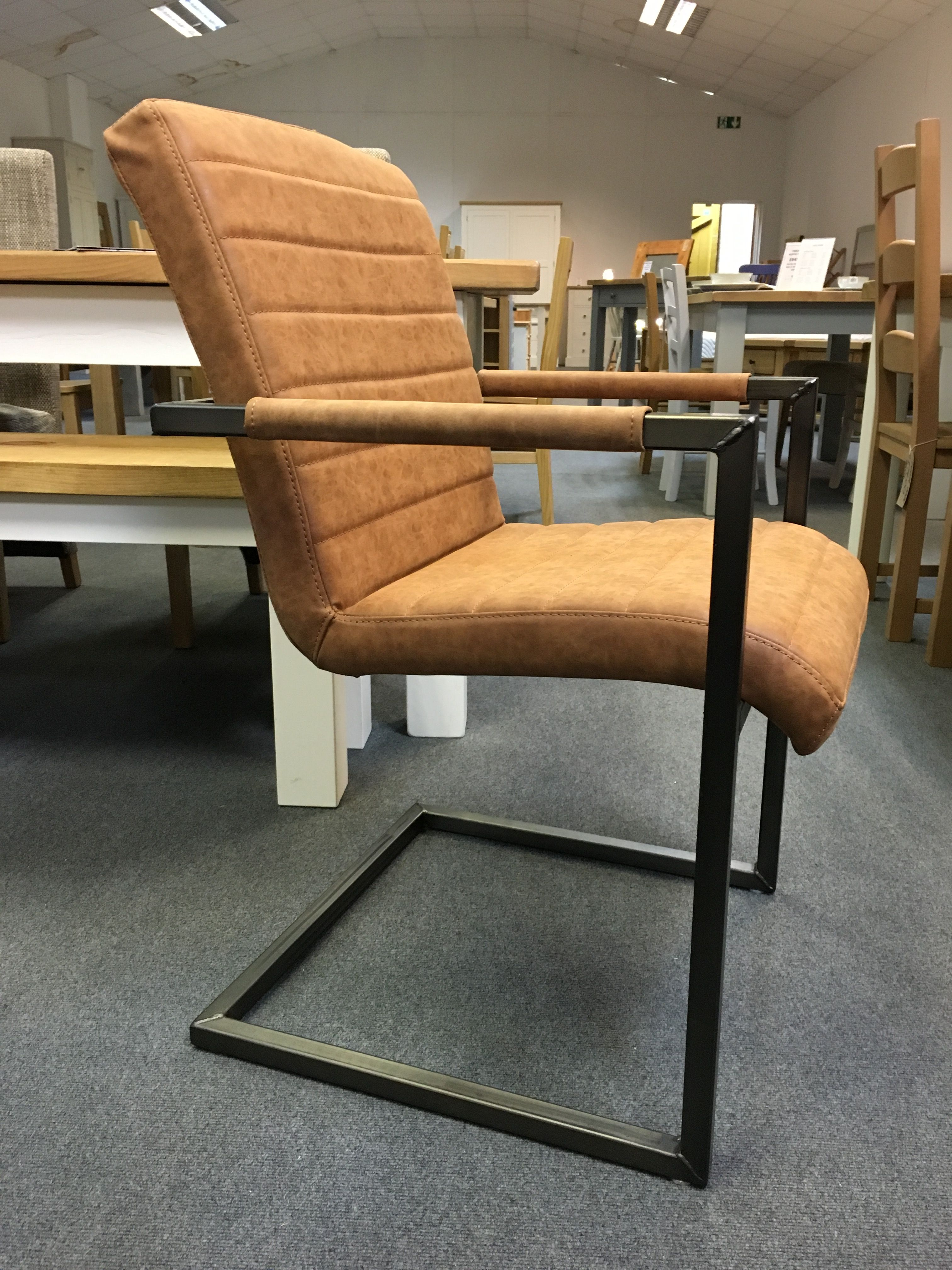 Industrial Metal Framed Chairs. Cobwebs Furniture Company.
