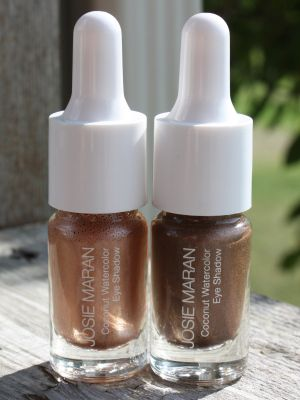 Josie Maran Coconut Watercolor Eyeshadow In Beach Sand And Rio De