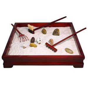 Deluxe Tabletop Zen Garden Kit I Want It