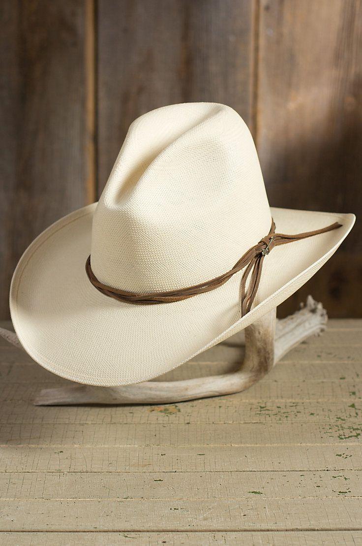 23414b45 Stetson Gus Shantung Straw Cowboy Hat   hats   Hats, Cowboy hats, Western  hats