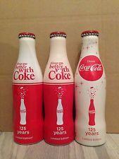 2 Coca cola aluminium autogrill Italy + 1 Germany