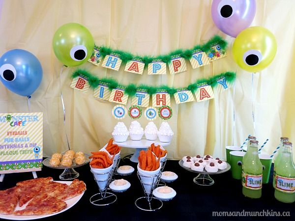 Monster Birthday Party Ideas Monsters Birthday party ideas and
