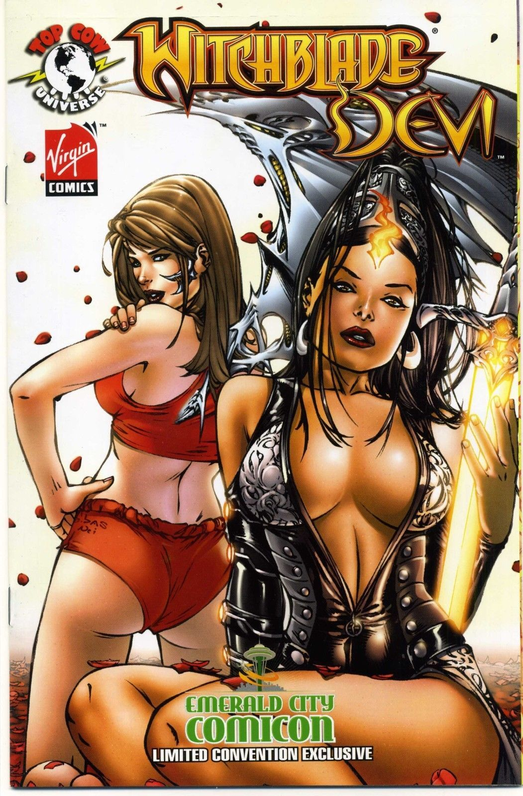 witchblade/devi ebas variant emerald city comic con eccc eric