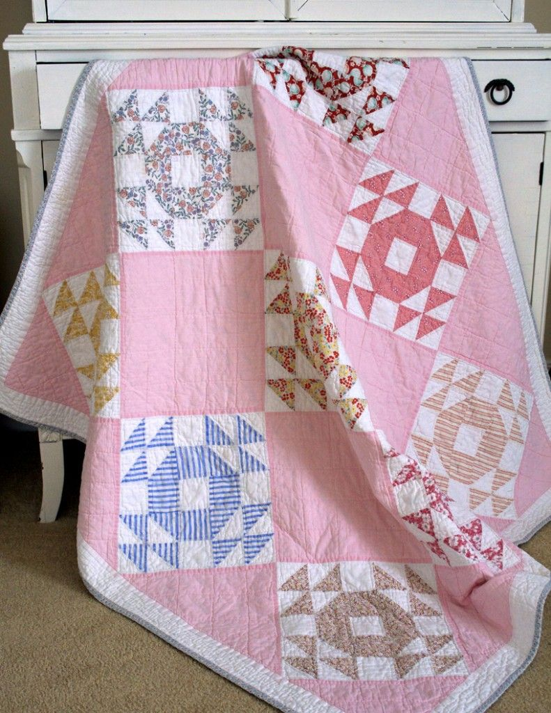Single Wedding Ring Quilts | Vintage Quilt Inspiration | Pinterest ...