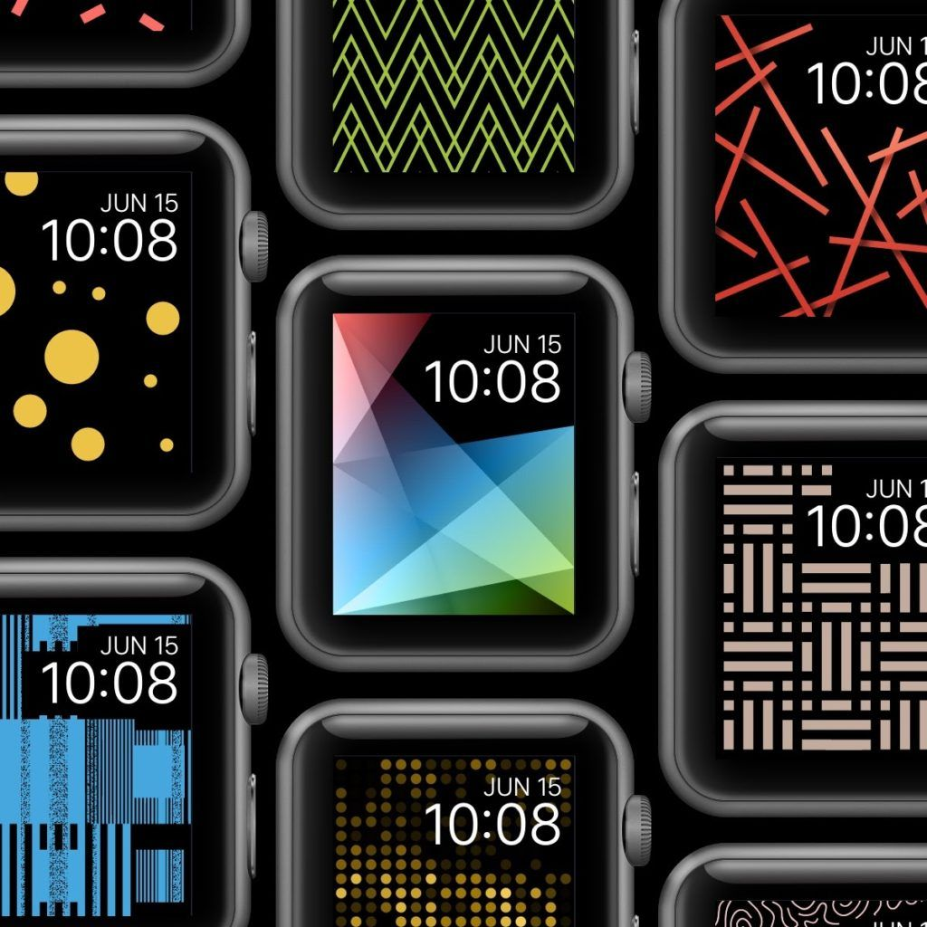 Apple Watch Wallpaper Facely Design Fashion Color In