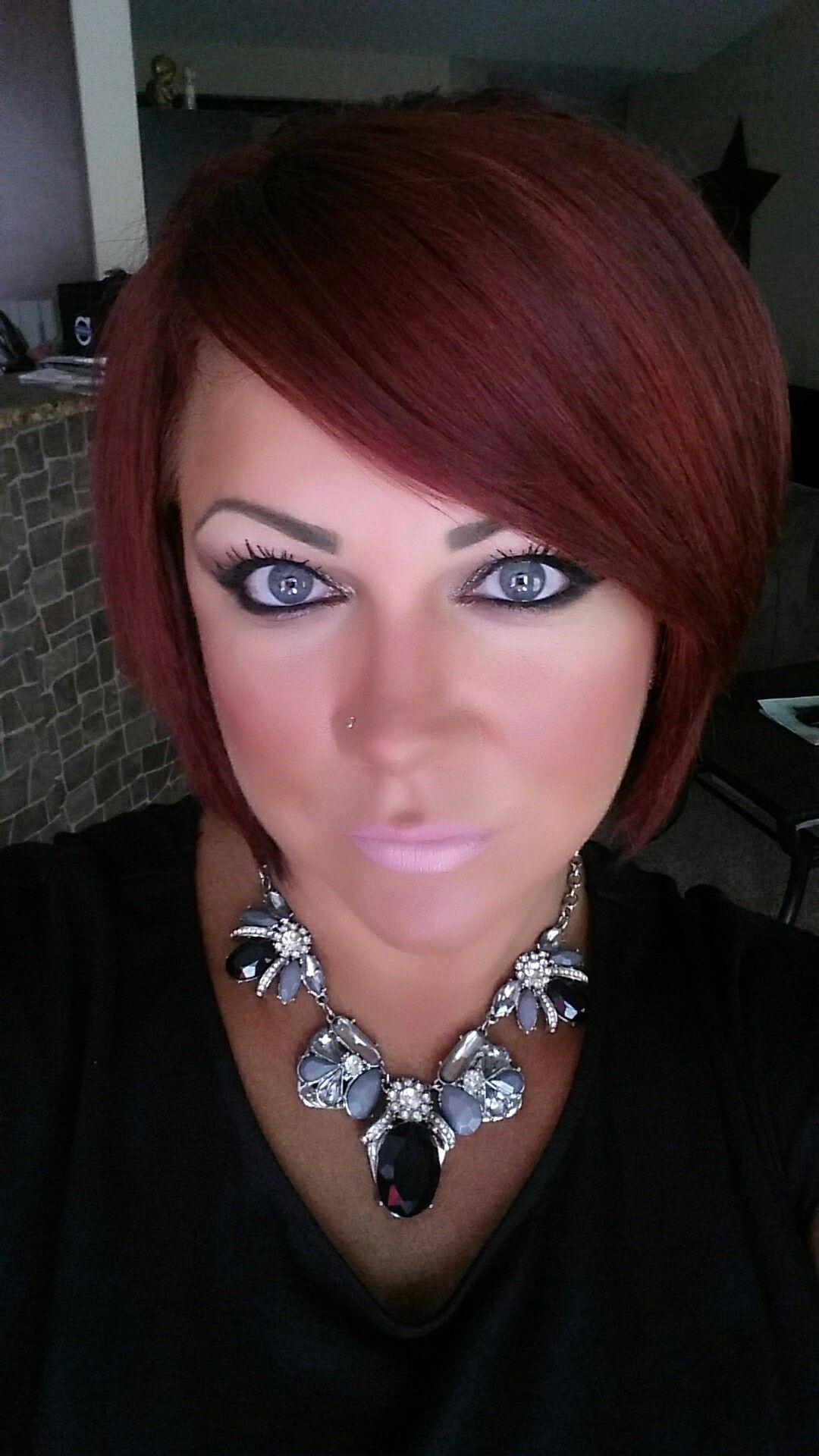 door Redhead girl next