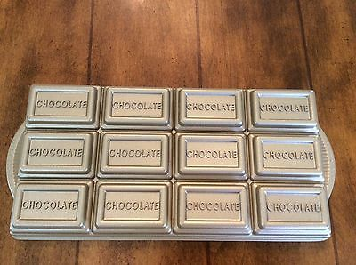 Nordicware Chocolate Bar Baking Pan