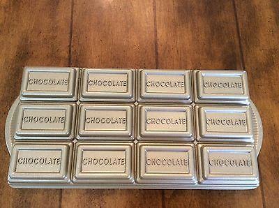 Nordicware Chocolate Bar Baking Pan