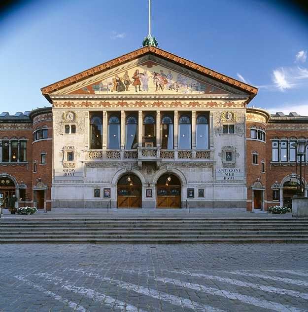 Aarhus Theatre  C.F. Møller. Photo: Julian Weyer