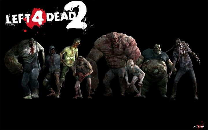 The Monsters In Left For Dead I Love Thes Game Left 4 Dead Left 4 Dead Game Zombie