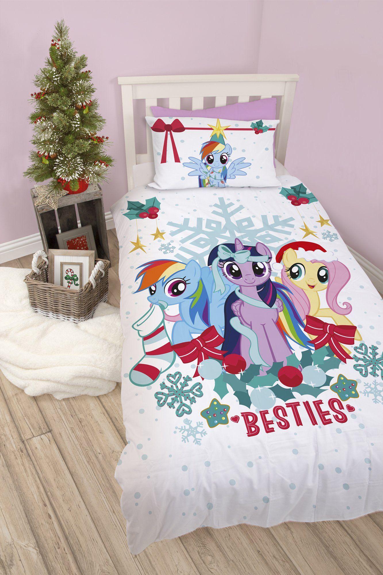 my little pony christmas bedding   my little pony bedroom