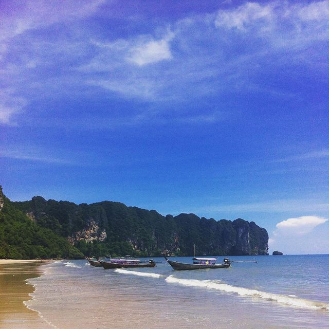 #AoNang Beach - making the most of our last few days in tropical paradise  #Thailand #backpacking by arblakeman