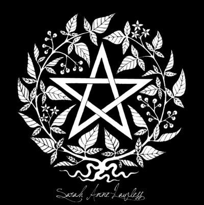 Black Nightshade Pentagram by Lolair on DeviantArt