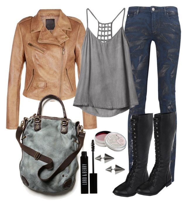 Malia Tate Inspired Outfit by lili-c on Polyvore featuring RVCA, Karl Lagerfeld, Forever 21, Free People, Banana Republic, Lord & Berry and Mullein & Sparrow