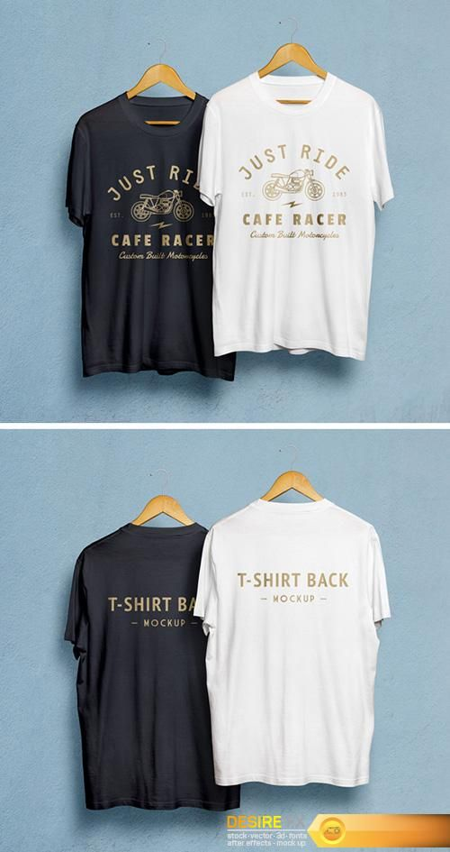 Download Http Www Desirefx Me Psd Mock Up T Shirts On Hangers Kemeja Kaos T Shirt