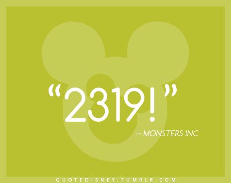 2319 Monsters Inc Line 6