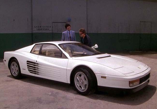 1986 Ferrari Testarossa Authentic Miami Vice Survivor Tv Cars